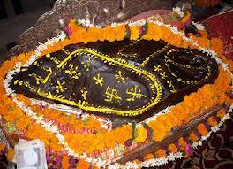 Govardhan Sila at Sri Radha Damodar Temple