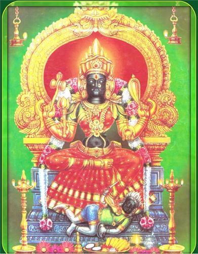 Vekkali Amma Main Deity of Woraiyur Temple