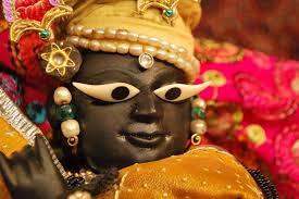 Deity of Banke Bihari Ji in Vrindavan