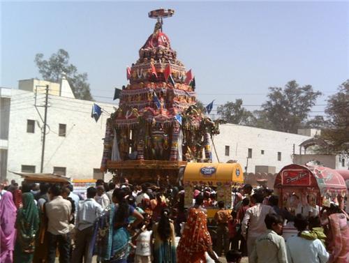 Brahmotsava Rang ji Mandir Vrindavan