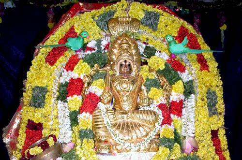 Festive Goddess Samayapuram