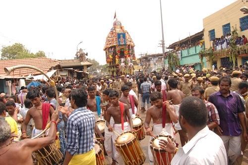 Car Festival Samayapuram