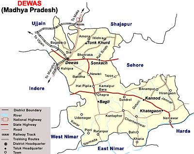 Geography of Dewas