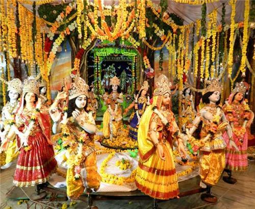 Sri Radha Shyam Sundar Temple in Vrindavan Location