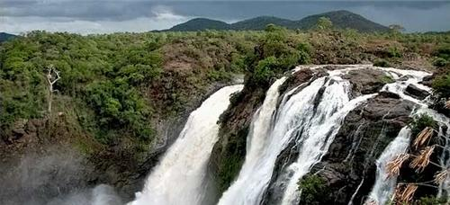 the magnificent shiva samudram falls