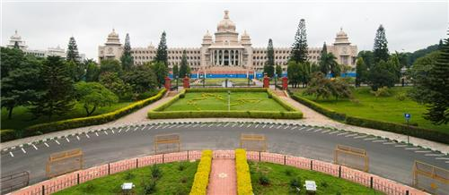 the Vidhan Soudha is the most beautiful and most visited place in Bangalore