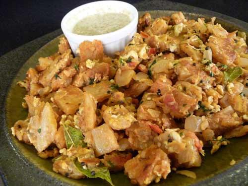 Street food in Coimbatore