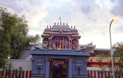 Veludayanpattu Sri Siva Subramania Swamy Temple Entrance