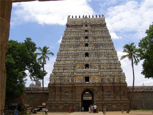 Srimushnam Temple Tower