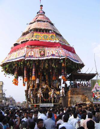 Srimushnam Temple Car