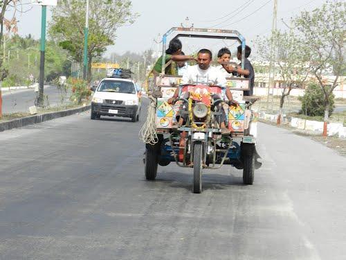Local Transportation in Diu