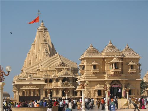 Somnath Temple near Diu