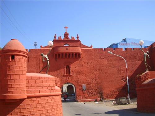 Zampa Gateway in Diu