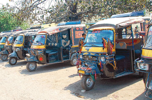 Local Transportation in Darbhanga