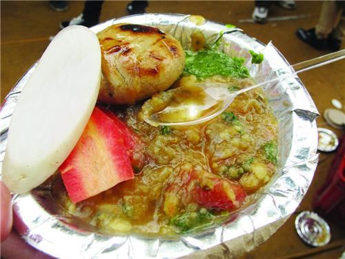 Snacks of  Darbhanga