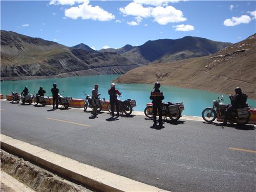 Motor Cycle Tour Arranged By Tour Operator in Darjeeling