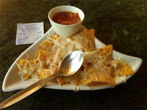 Food at Frank Ross Cafe in Darjeeling