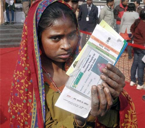 aadhar card for poor and marginalized people