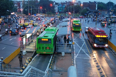 Delhi Bus Rapid Transit System Bus Stops