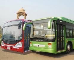 Buses in Delhi