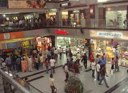 Ever Crowded Delhi Malls