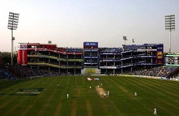 Cricket Ground in Delhi