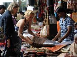 Foreigners in Delhi