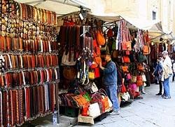 Shops at Leather Market Delhi