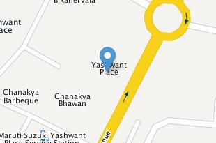 Map of Yashwant Place Market