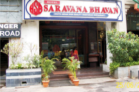 Famous Restaurant in Janpath