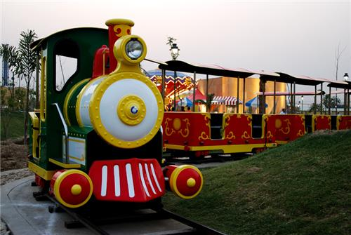 Toy Train in Adventure Island in Delhi