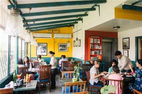 Cafe Turtle in Delhi