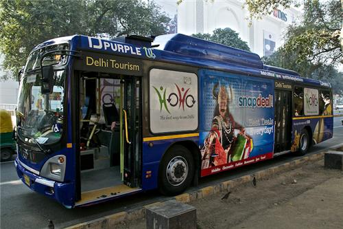 Delhi HoHo Buses