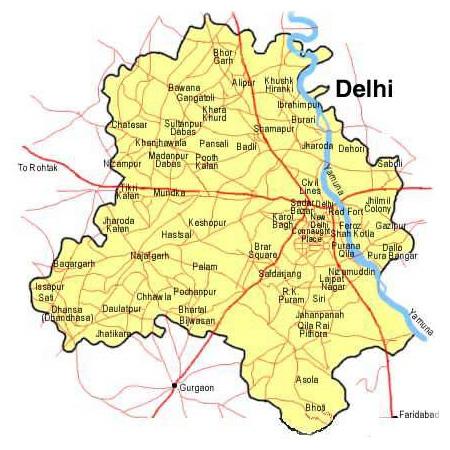 Delhi Geography
