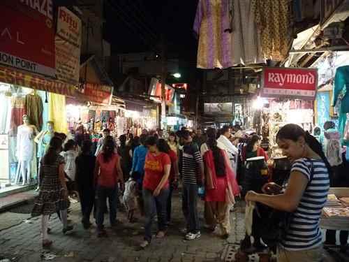 Shopping in Delhi during Diwali