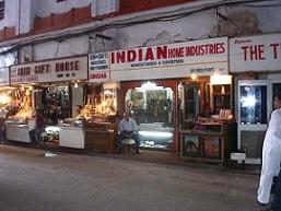 Meena Bazar near red fort shops