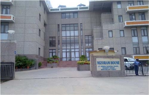 Mizoram Bhawan in Delhi