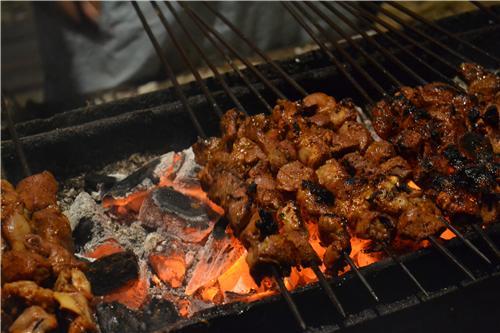 Tikka and Kebabs in Old Delhi