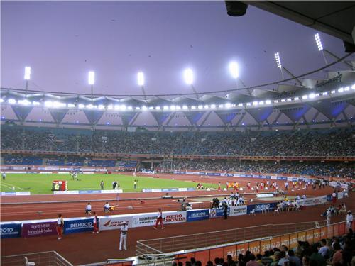 Jawaharlal Nehru Stadium Track