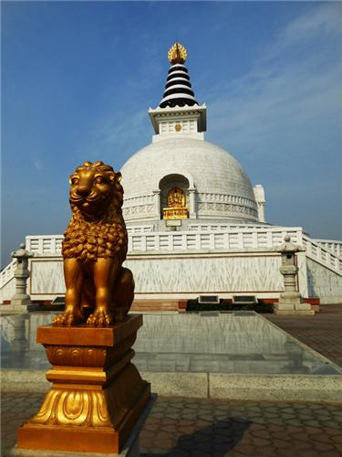 Around the Vishwa Shanti Stupa