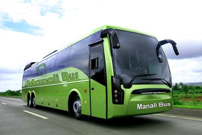 Volvo buses in Delhi