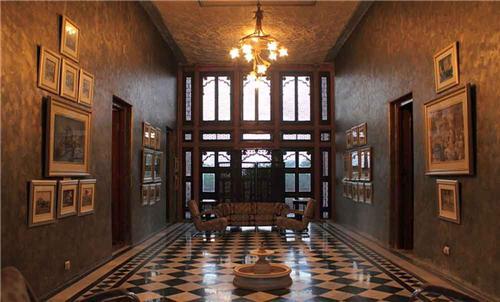 Featuring Decoration at Raj Niwas Palace Resort in Dholpur