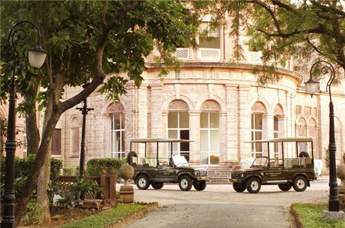 Magnificent View of Raj Niwas Palace Resort in Dholpur