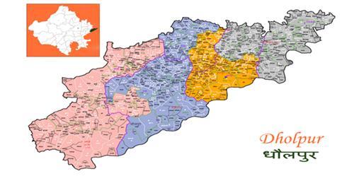 District Region of Dholpur in Rajasthan