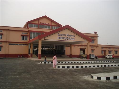 Railway Station in Dibrugarh