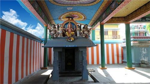 Vinayagar Shrine at the Arulmigu Arudra Kabaliswarar Temple