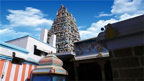 Arulmigu Arudra Kabaliswarar Temple Tower