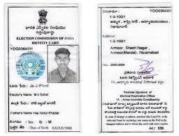 Voter ID Card in Etawah