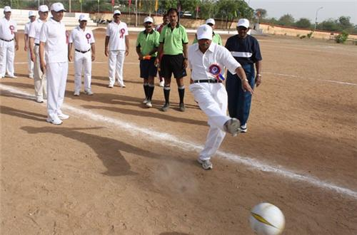 Football in Faizabad
