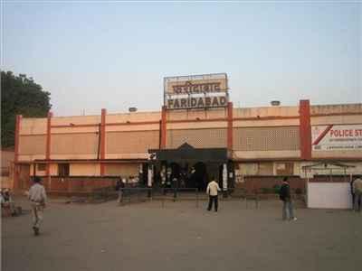 Railway Station in Faridabad